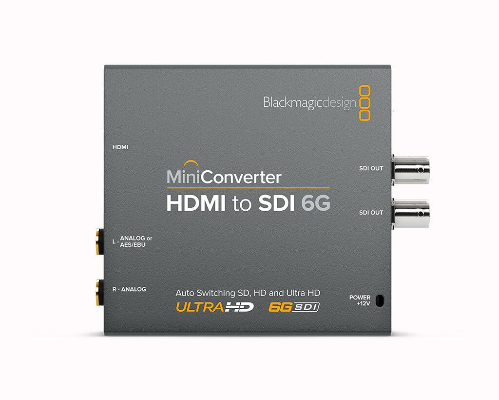 Mini Converter HDMI to SDI 6G Front