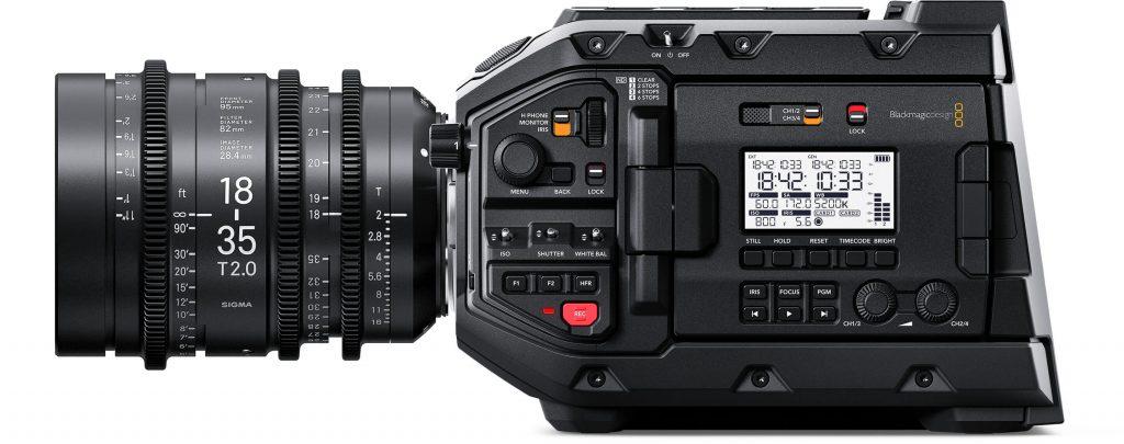URSA Mini Pro Controls