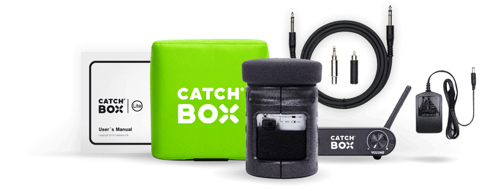 Catchbox Lite - Whats Included
